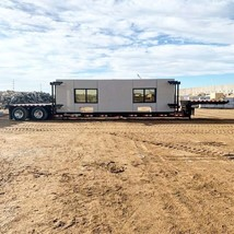 IES Trailer with four IES panels and pre-installed windows